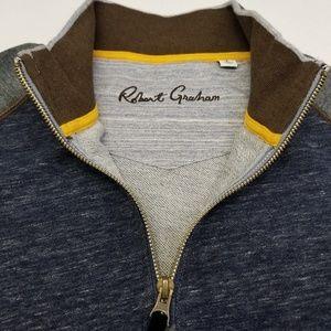 Robert Graham Long Sleeve Zip Top
